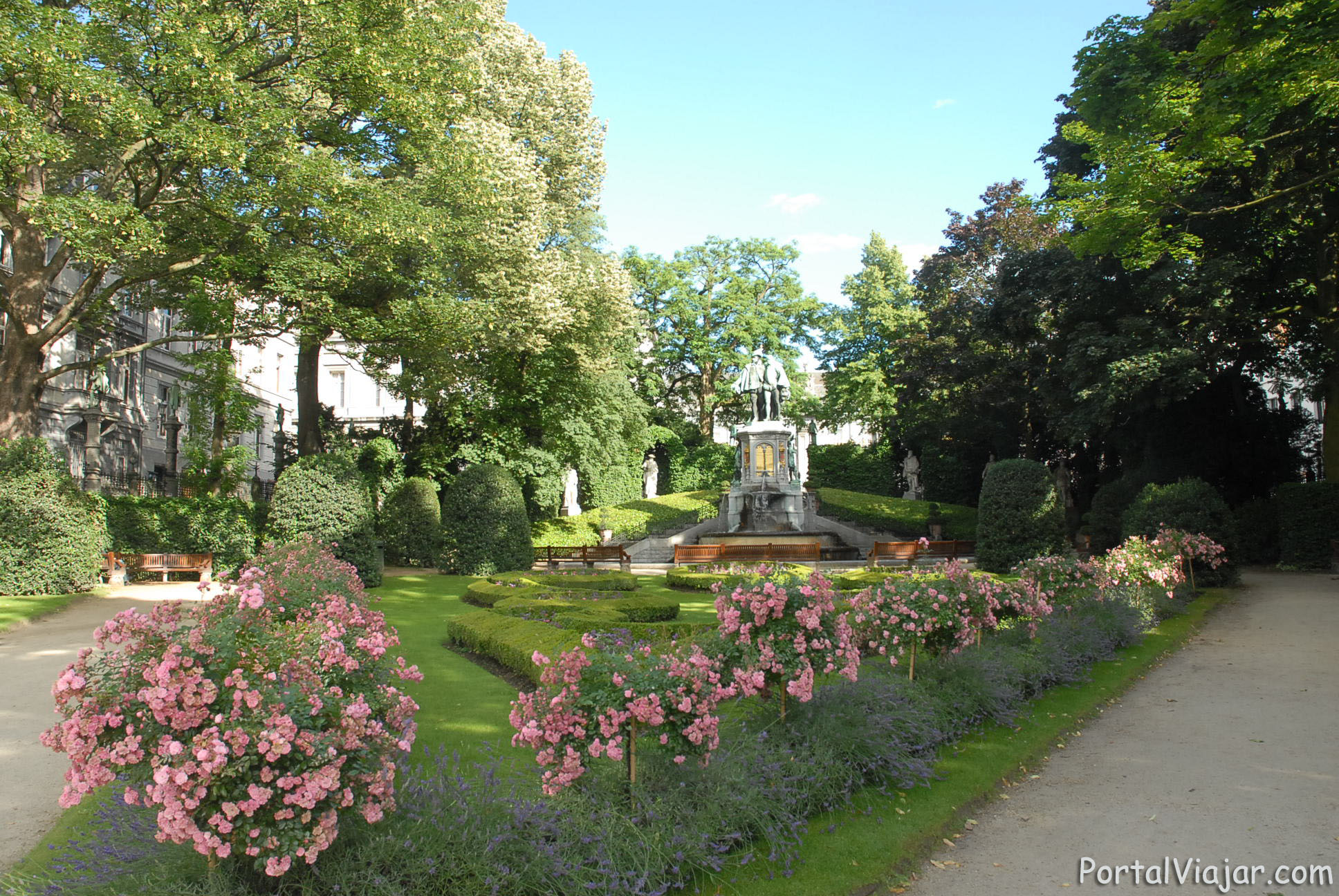 Jardín del Pequeño Sablon (Bruselas)