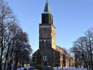 catedral de turku en invierno