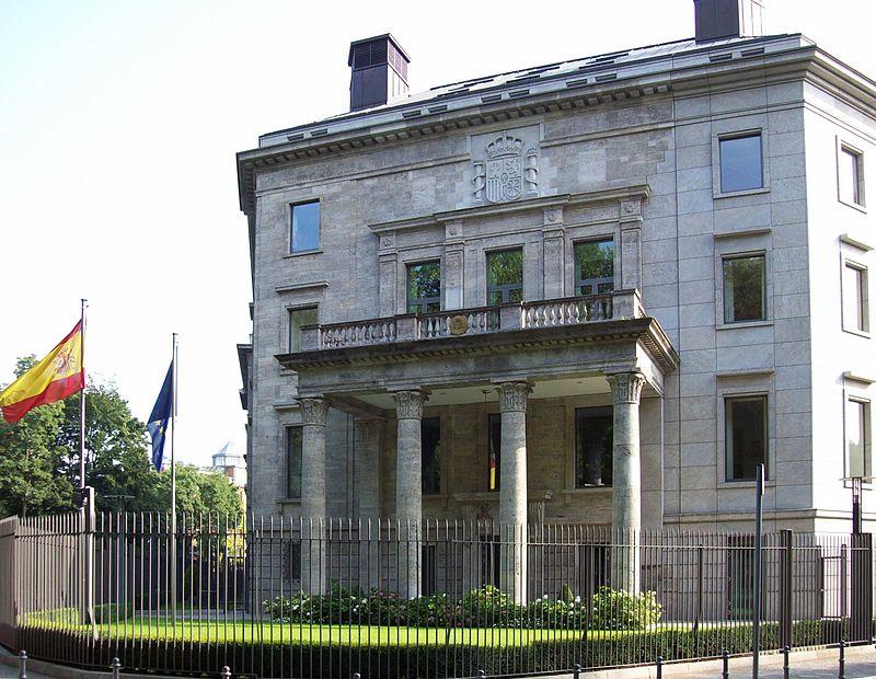 embajada de españa en berlin