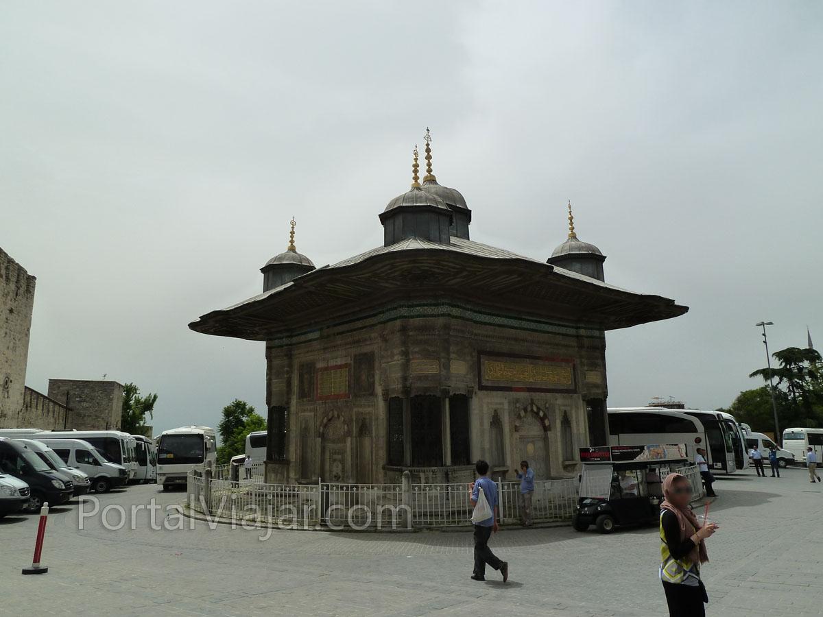Fuente de Sultan Ahmet III (Estambul)
