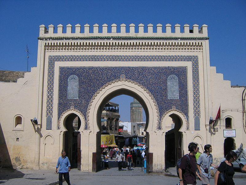 fez - puerta a la vieja medina