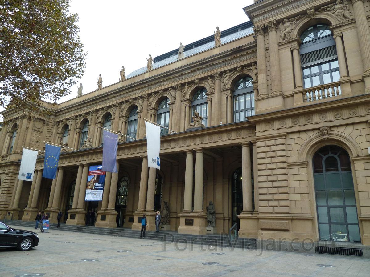 frankfurt 88 - edificio de la bolsa alemana