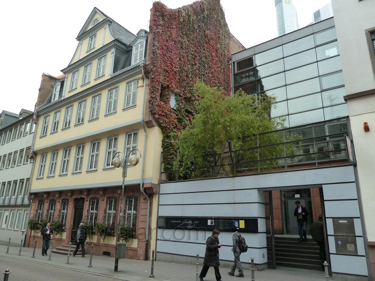 frankfurt 99 - museo de goethe