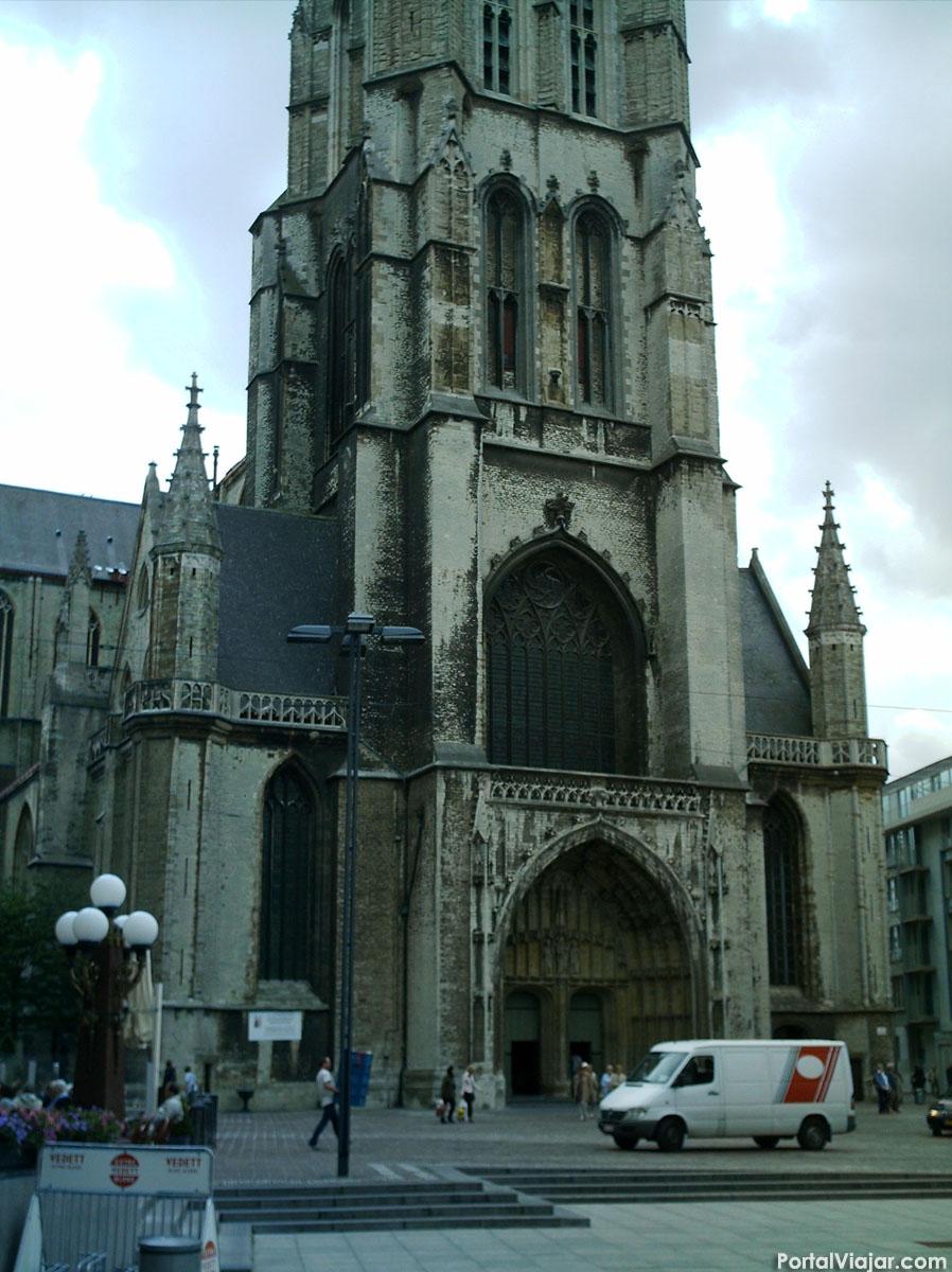 Catedral de San Bavon - Entrada (Gante)