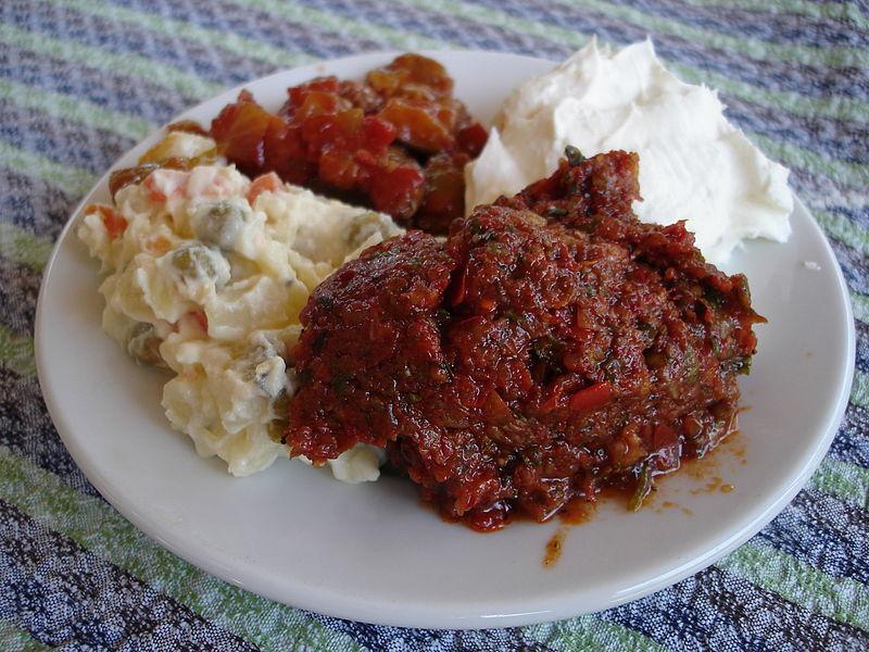 gastronomia de chipre plato de meze