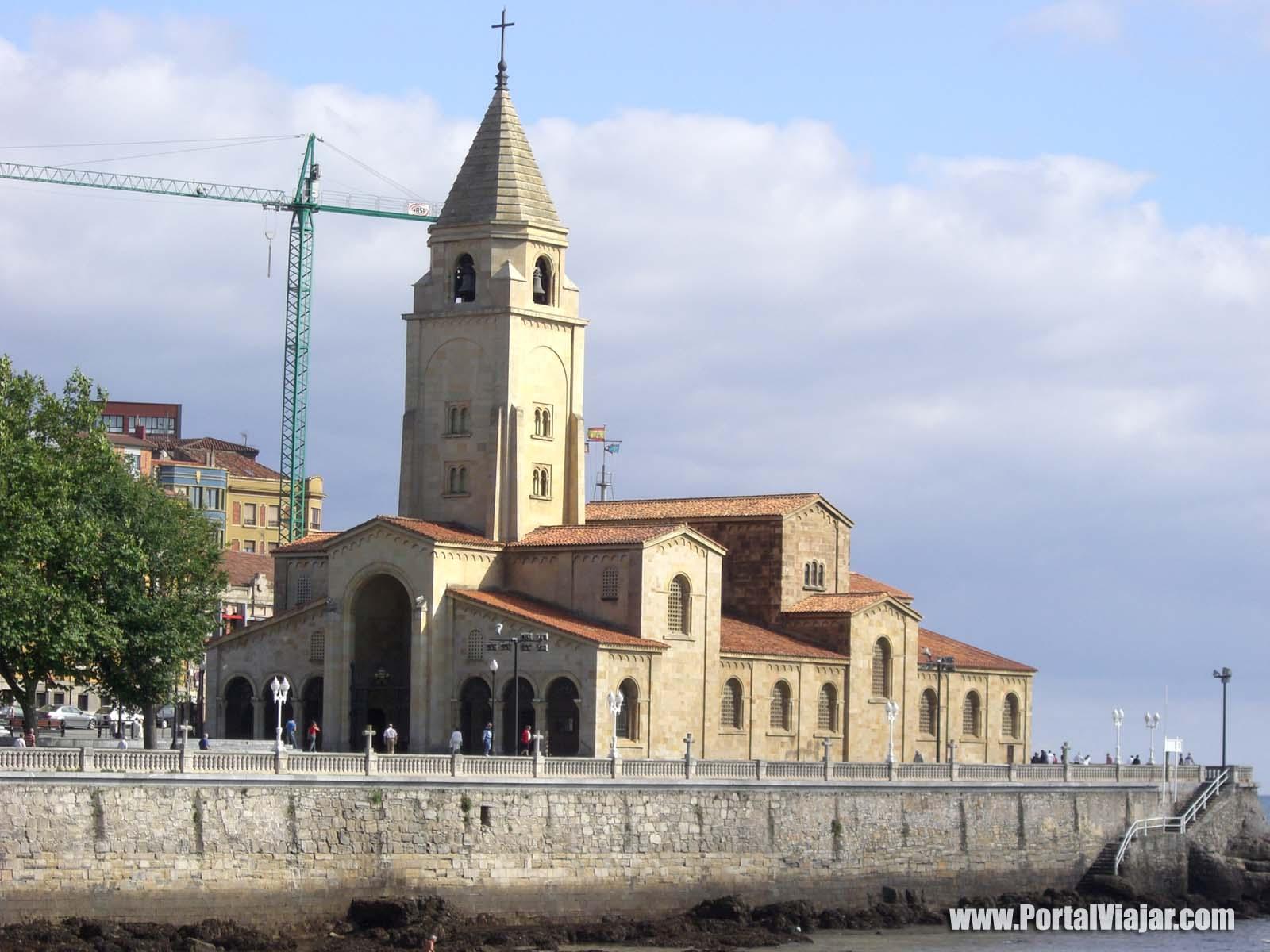 gijon 7 - iglesia de san pedro