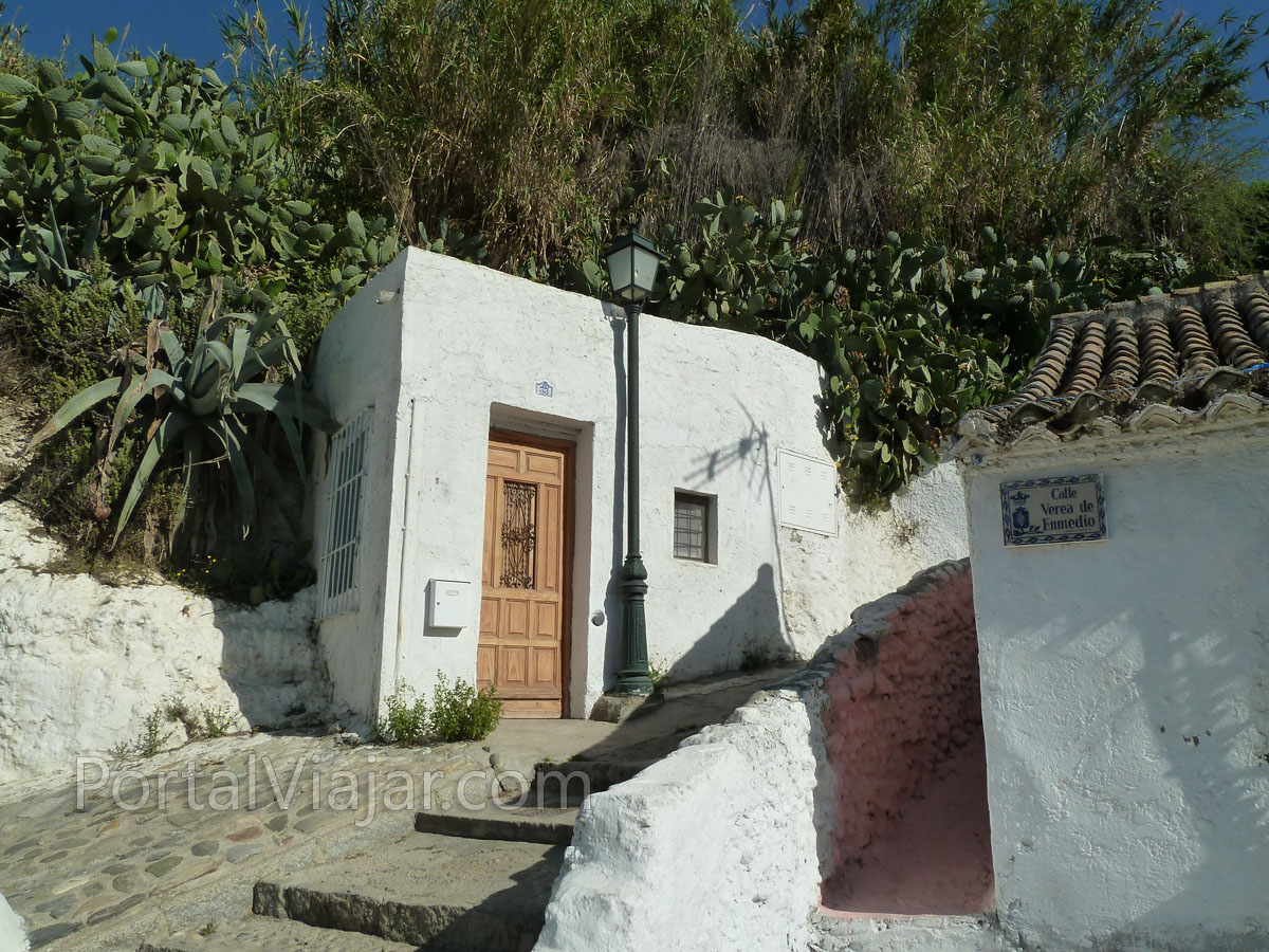 Barrio del Sacromonte (Granada) - Casa cueva