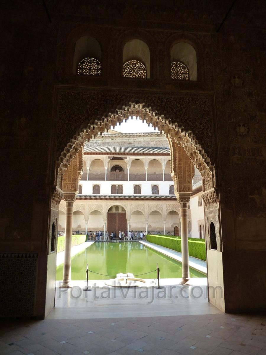 Granada 53 alhambra palacios nazaries palacio de - Banos arabes palacio de comares ...
