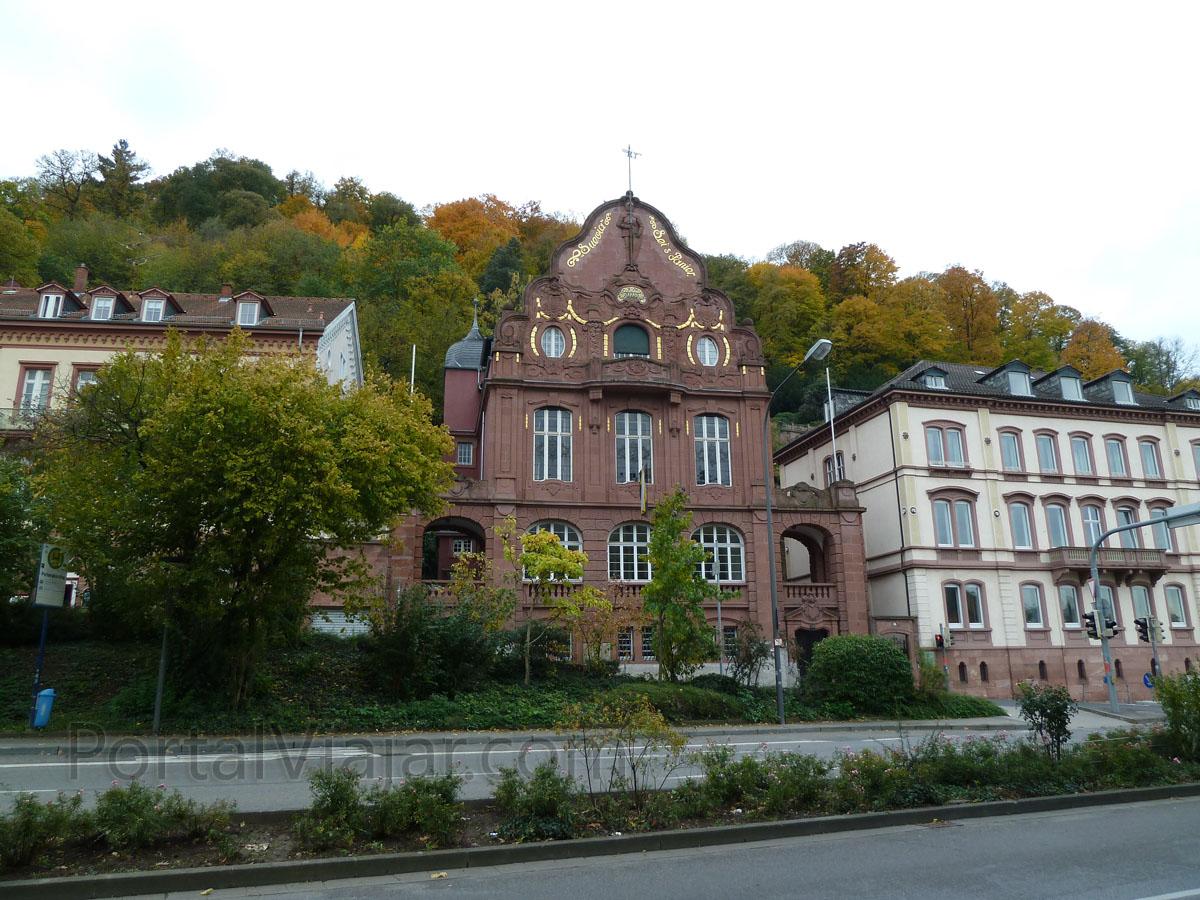 heidelberg 100 - biblioteca de la universidad