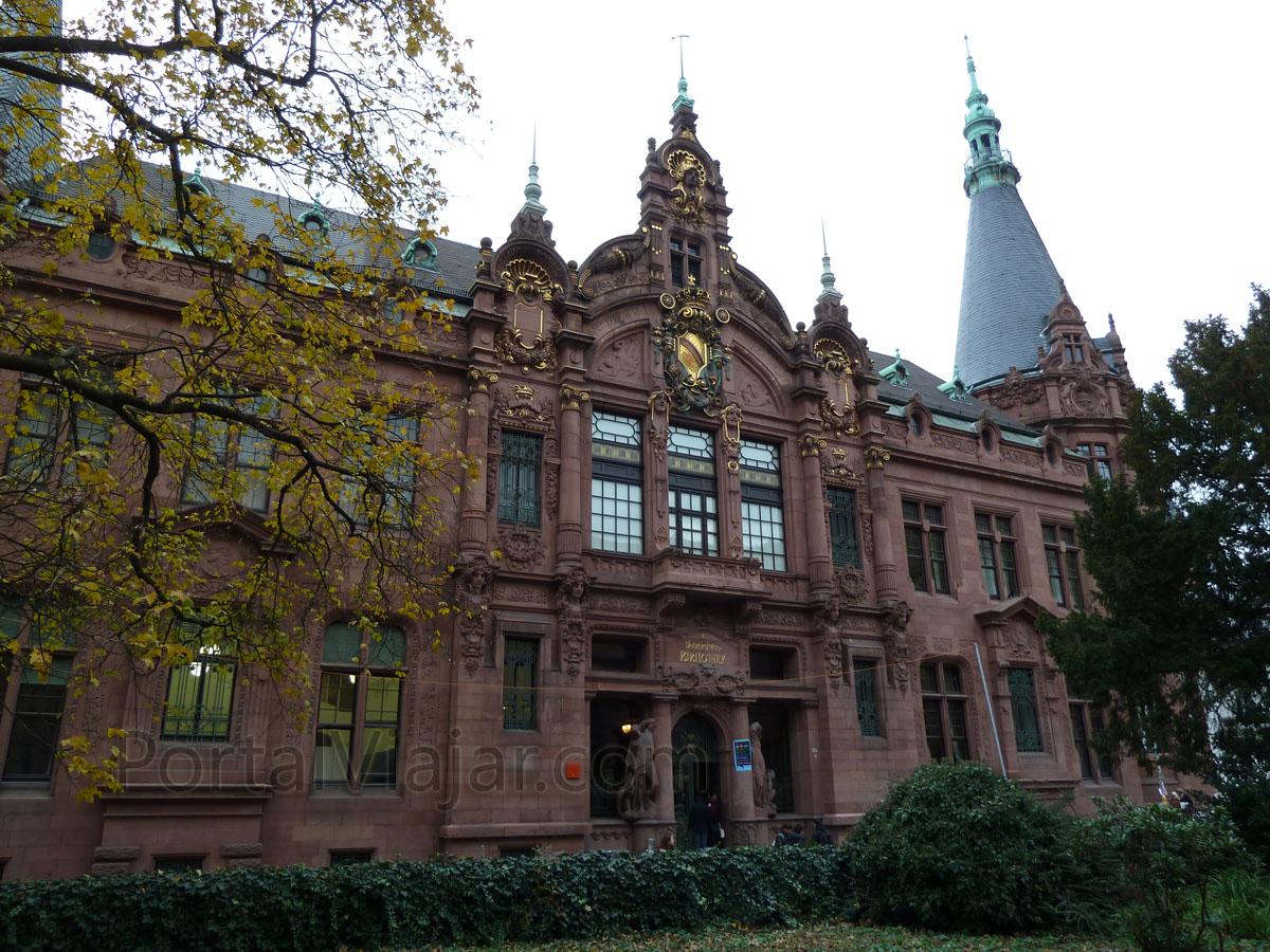 heidelberg 101 - biblioteca de la universidad