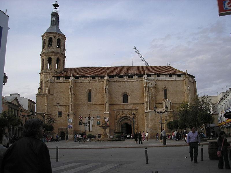 iglesia de nuestra señora de la asuncion valdepeñas