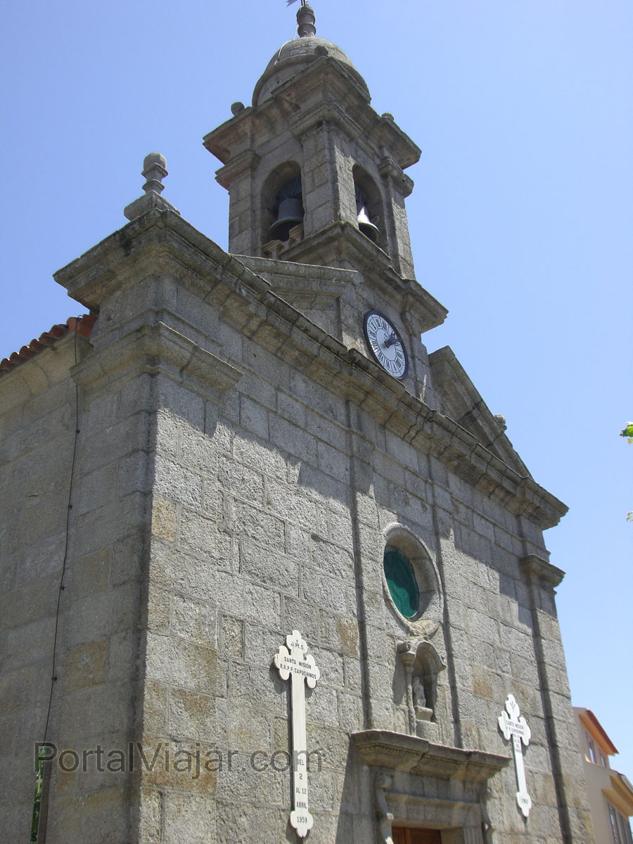 illa de arousa 50 - iglesia parroquial de san xulian
