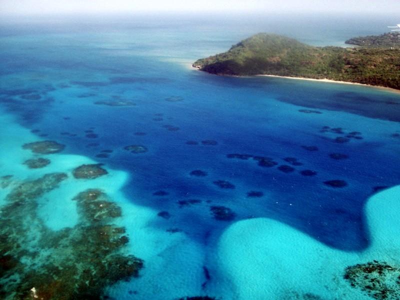 Arrecifes de coral (Isla de Providencia)