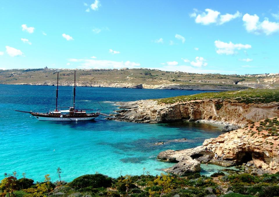malta - isla comino