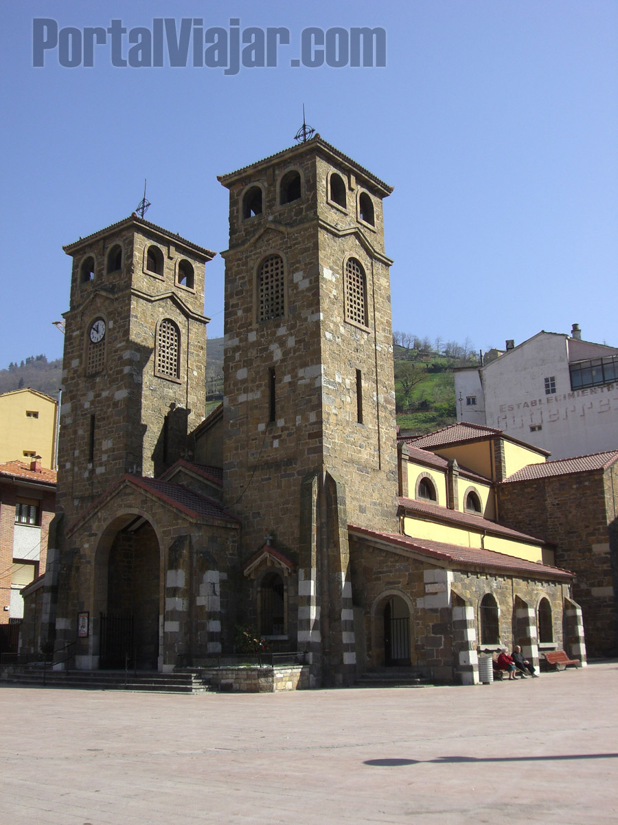 moreda de aller - iglesia parroquial de san martin