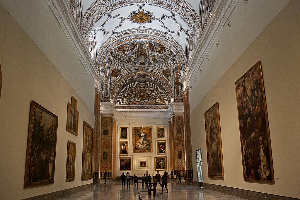 museo de bellas artes de sevilla - sala v