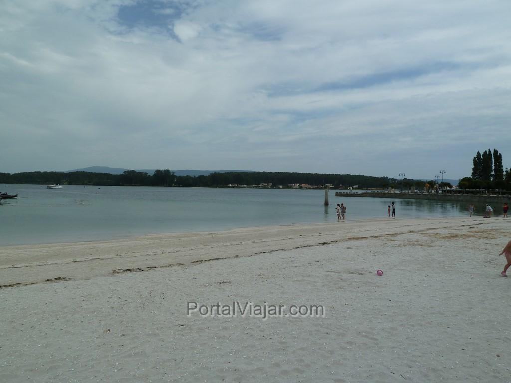 o grove - playa de confin