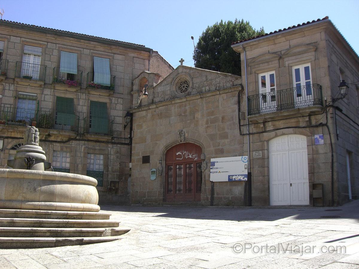 Capilla de San Cosme y San Damián - Plaza de San Cosme (Ourense)