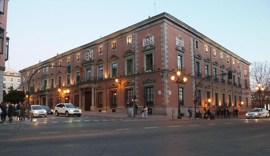 palacio del duque de uceda - palacio de los consejos madrid