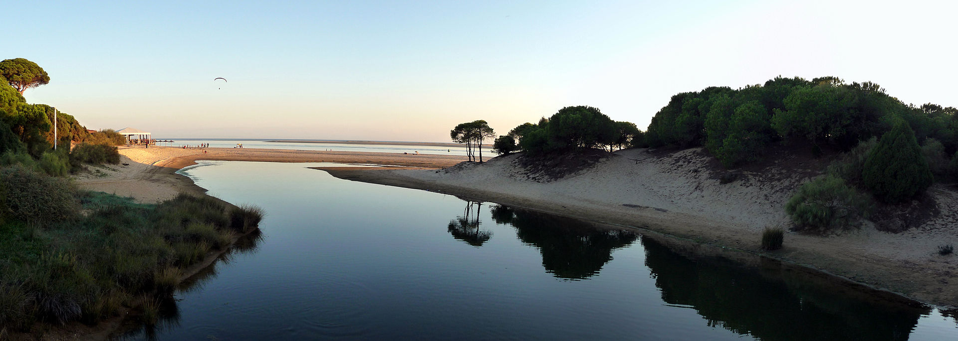 Playa de El Portil - Caño de la Culata (Punta Umbría)