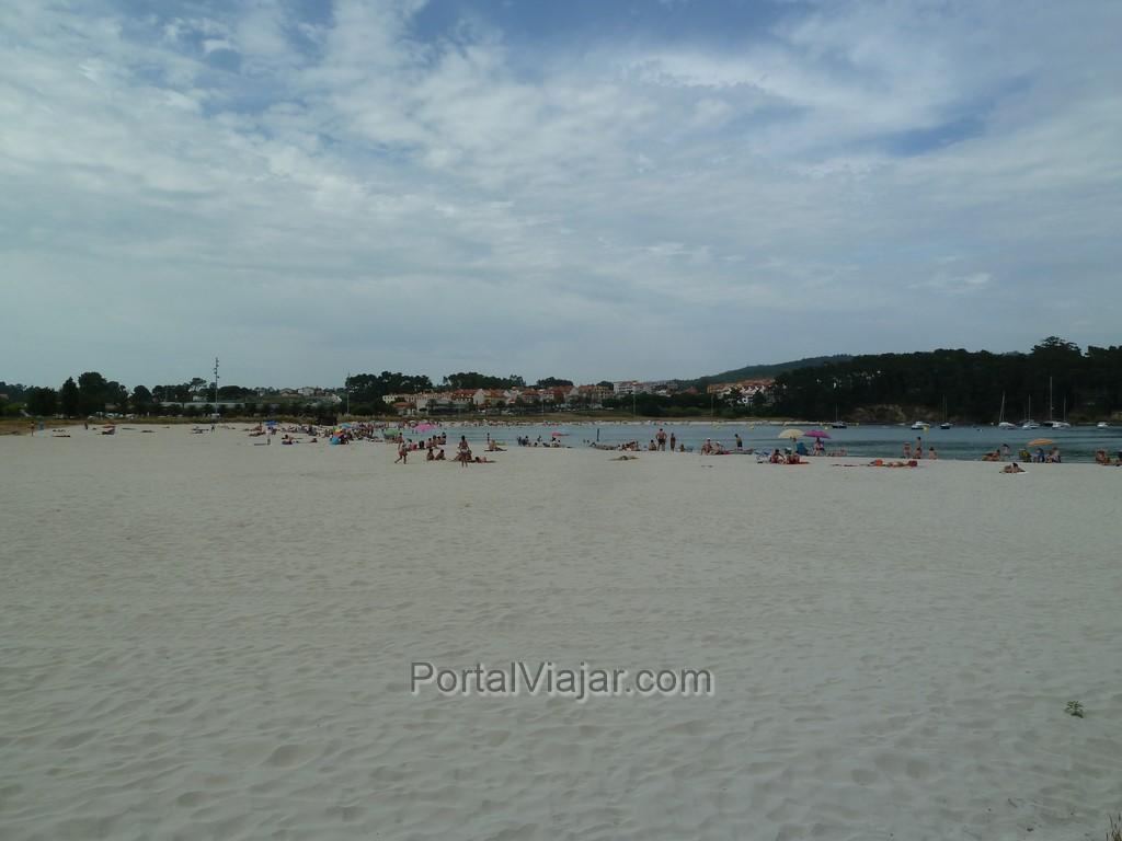 portonovo playa de baltar