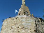 san sebastian monte urgull mendia 1 estatua del sagrado corazon de jesus