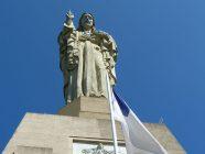 san sebastian monte urgull mendia 6 estatua del sagrado corazon de jesus