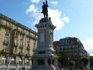 san sebastian monumento al almirante antonio de oquendo