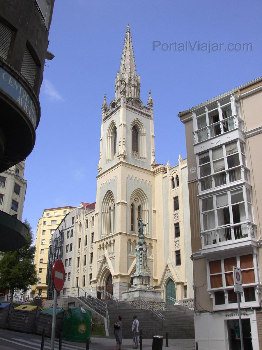 Santander - Iglesia del Sagrado Corazón