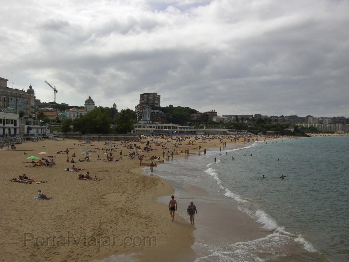 Santander - Playa de El Sardinero