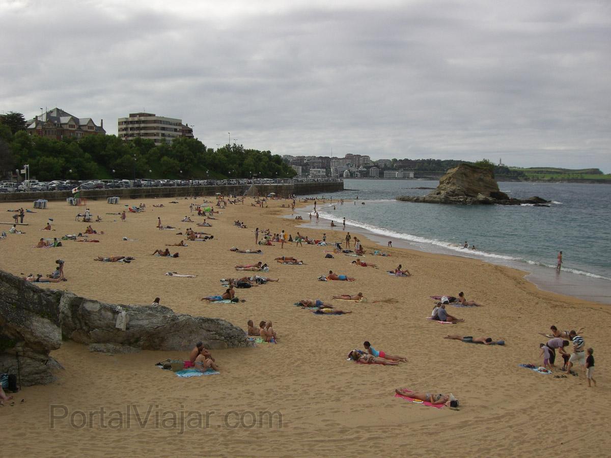 Santander - Playa de El Camello