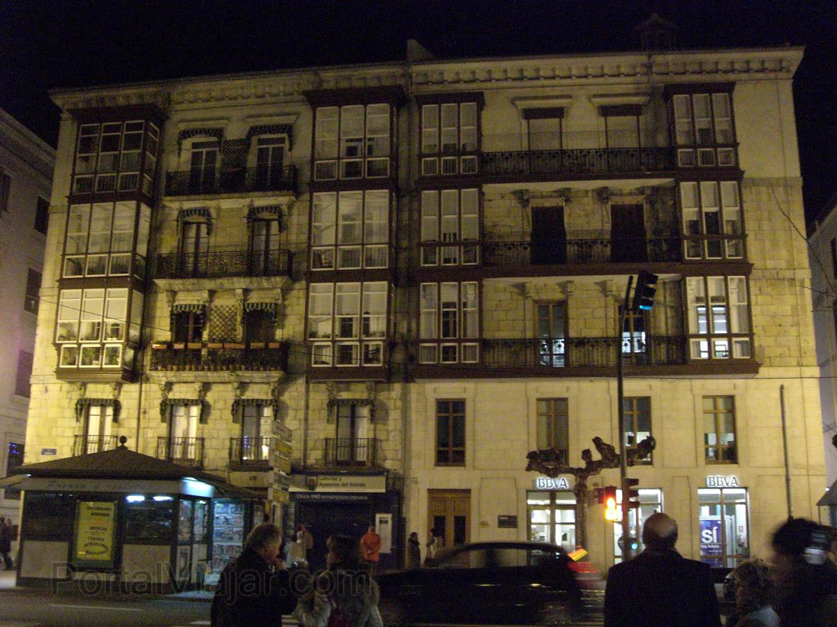 Paseo de la Pereda - Fachadas (Santander)