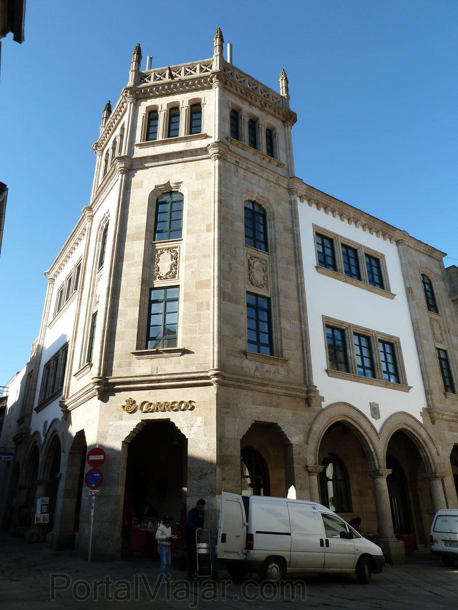 edificio de correos santiago de compostela portal viajar ForOficinas De Correos En Santiago De Compostela