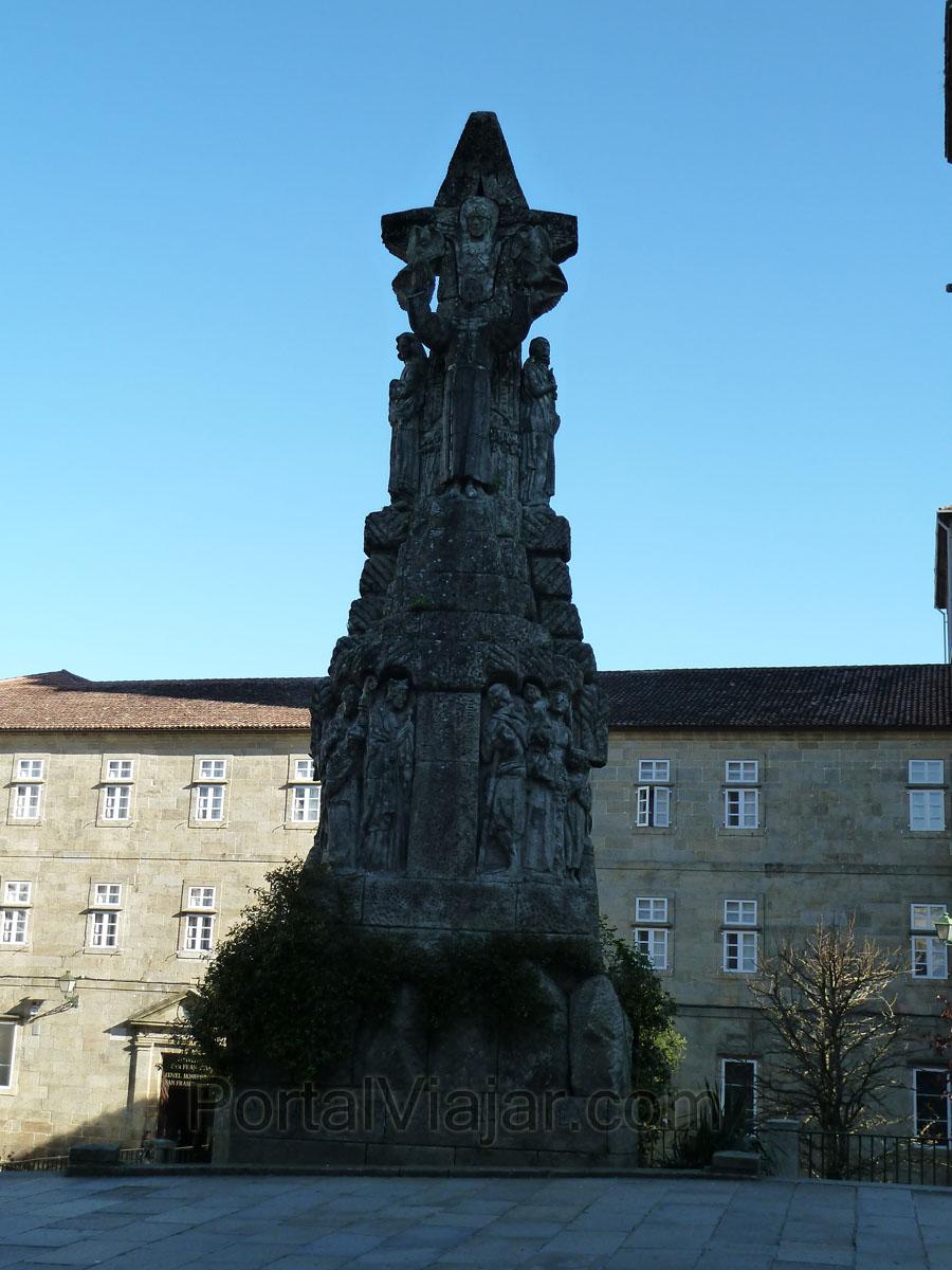 Monumento a San Francisco (Santiago de Compostela)