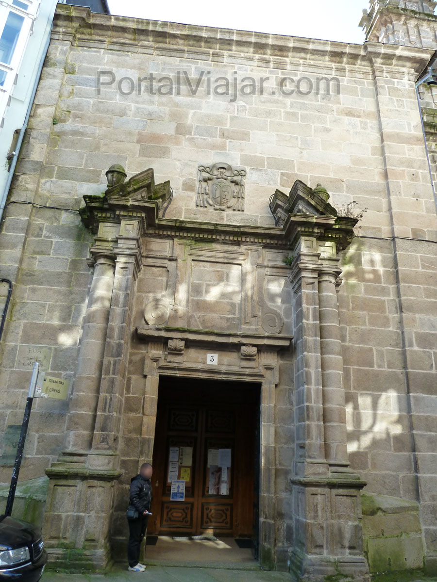 Convento das Orfas / Convento de las Huérfanas (Santiago de Compostela)