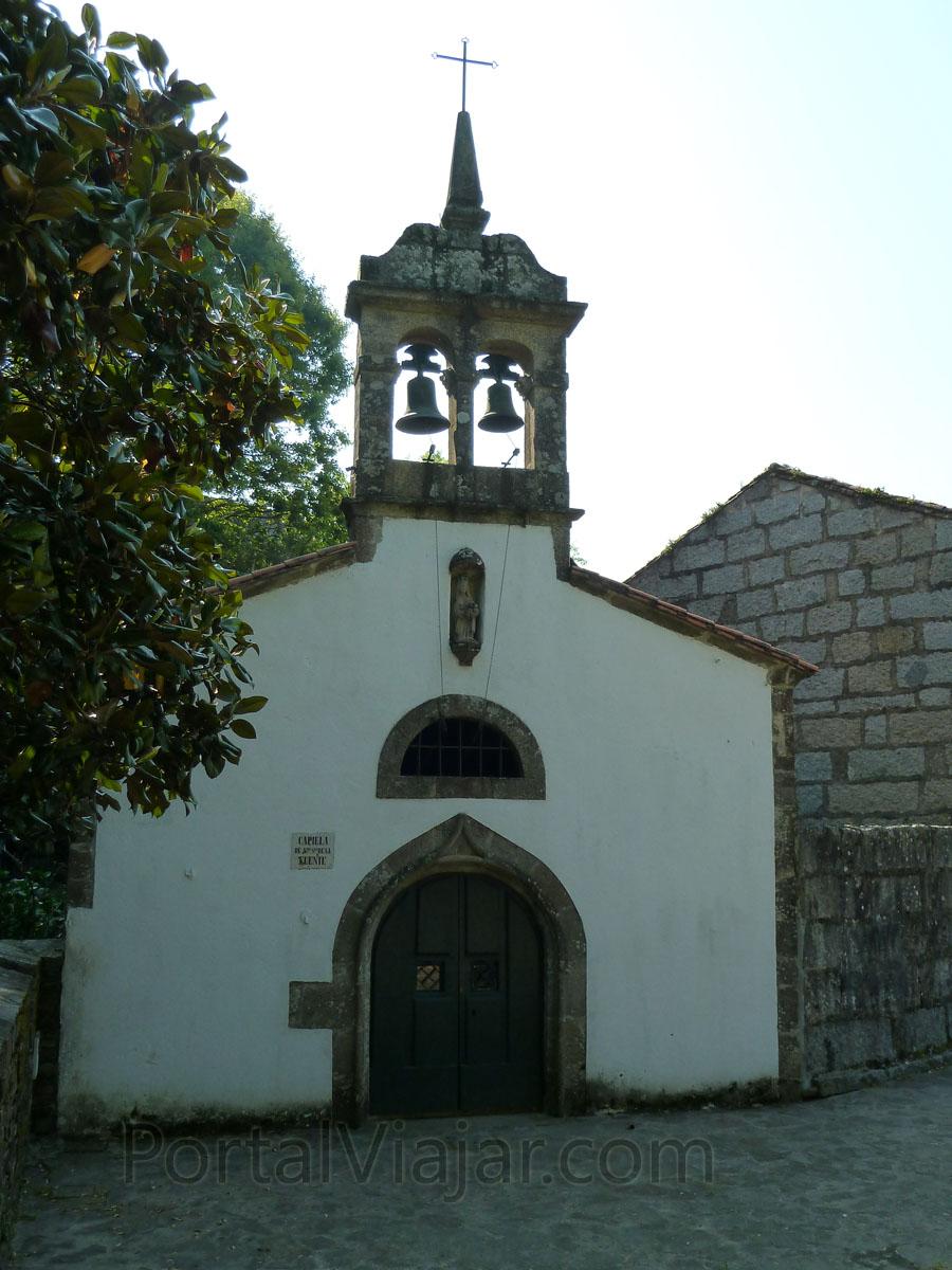 santiago de compostela 309 - capilla de nuestra senora de la fuente