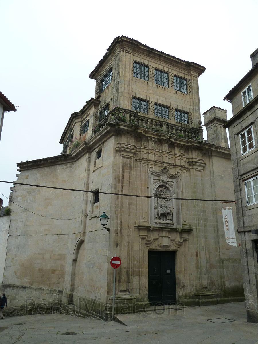 santiago de compostela 325 - monasterio san paio de antealtares
