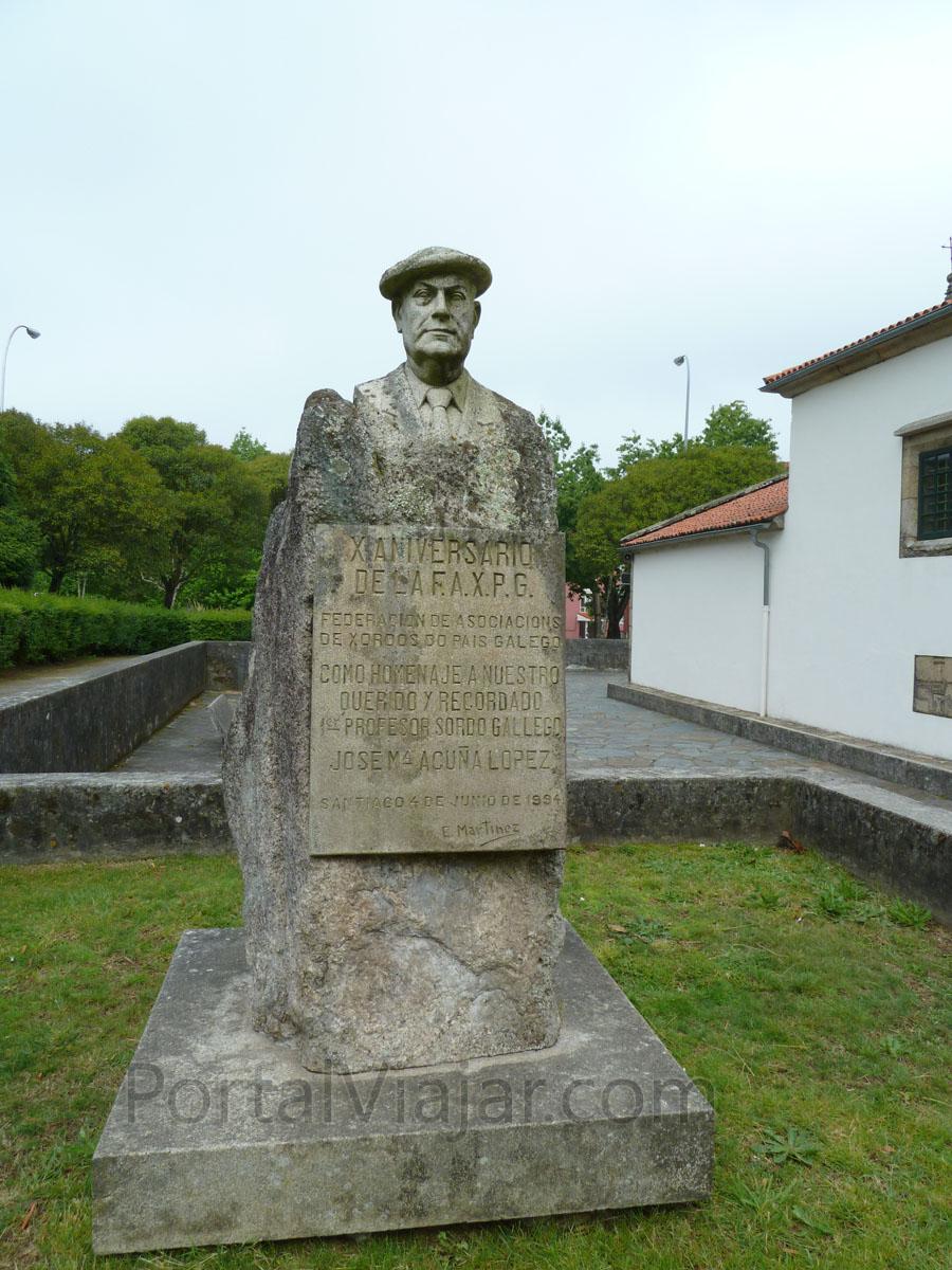 santiago de compostela 328 - monumento a jose maria acuna lopez