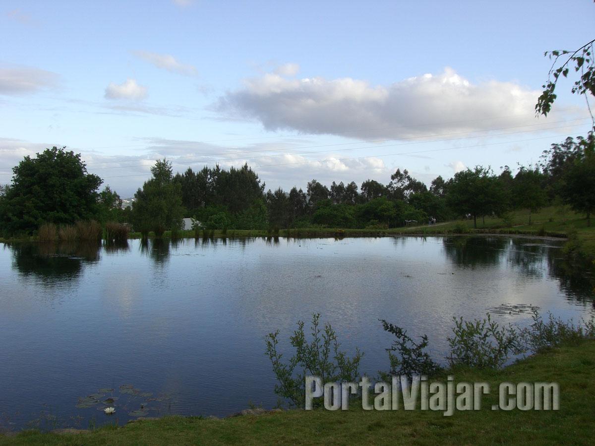 santiago de compostela 72 - parque natural granxa do xesto - lago