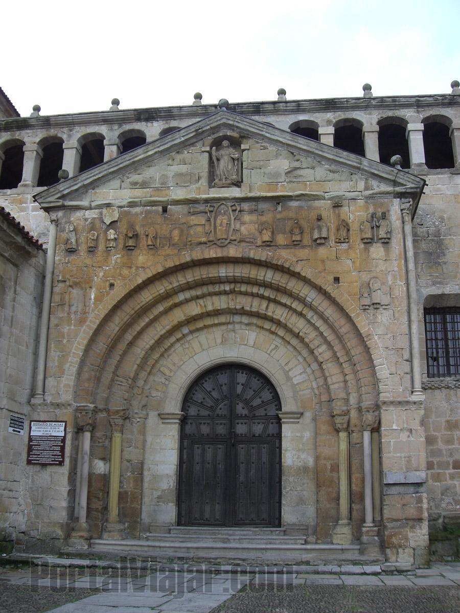 Colegiata de Santa Juliana - Entrada (Santillana del Mar)