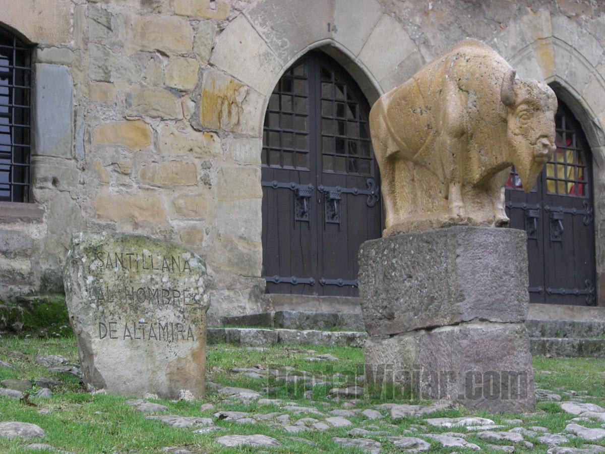 Monumento al Hombre de Altamira (Santillana del Mar)
