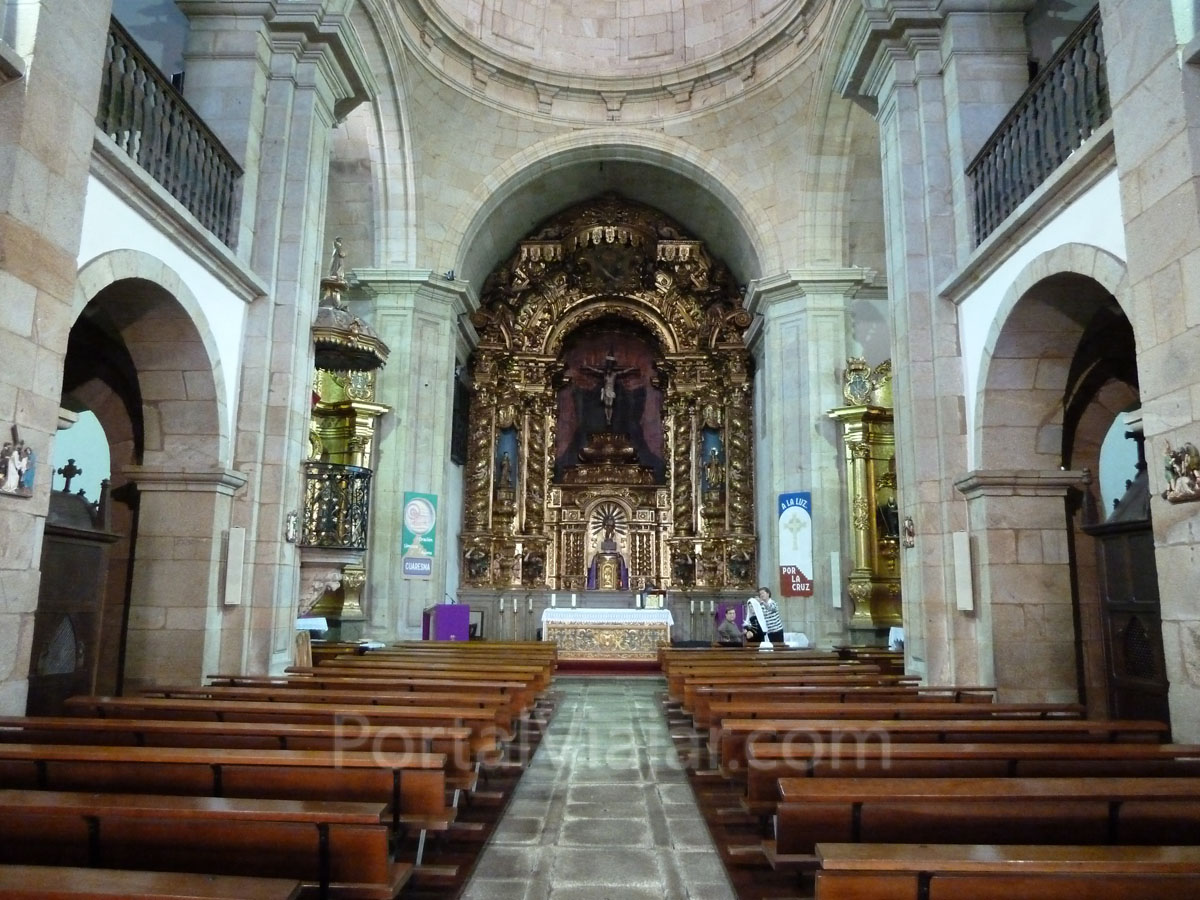 tui - iglesia de san francisco - interior