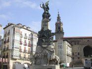 vitoria - monumento a la batalla de vitoria