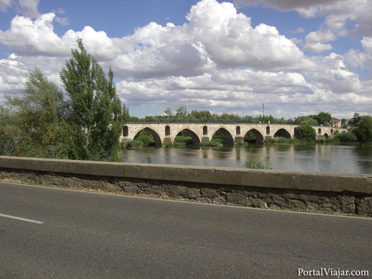 zamora - puente-romanico
