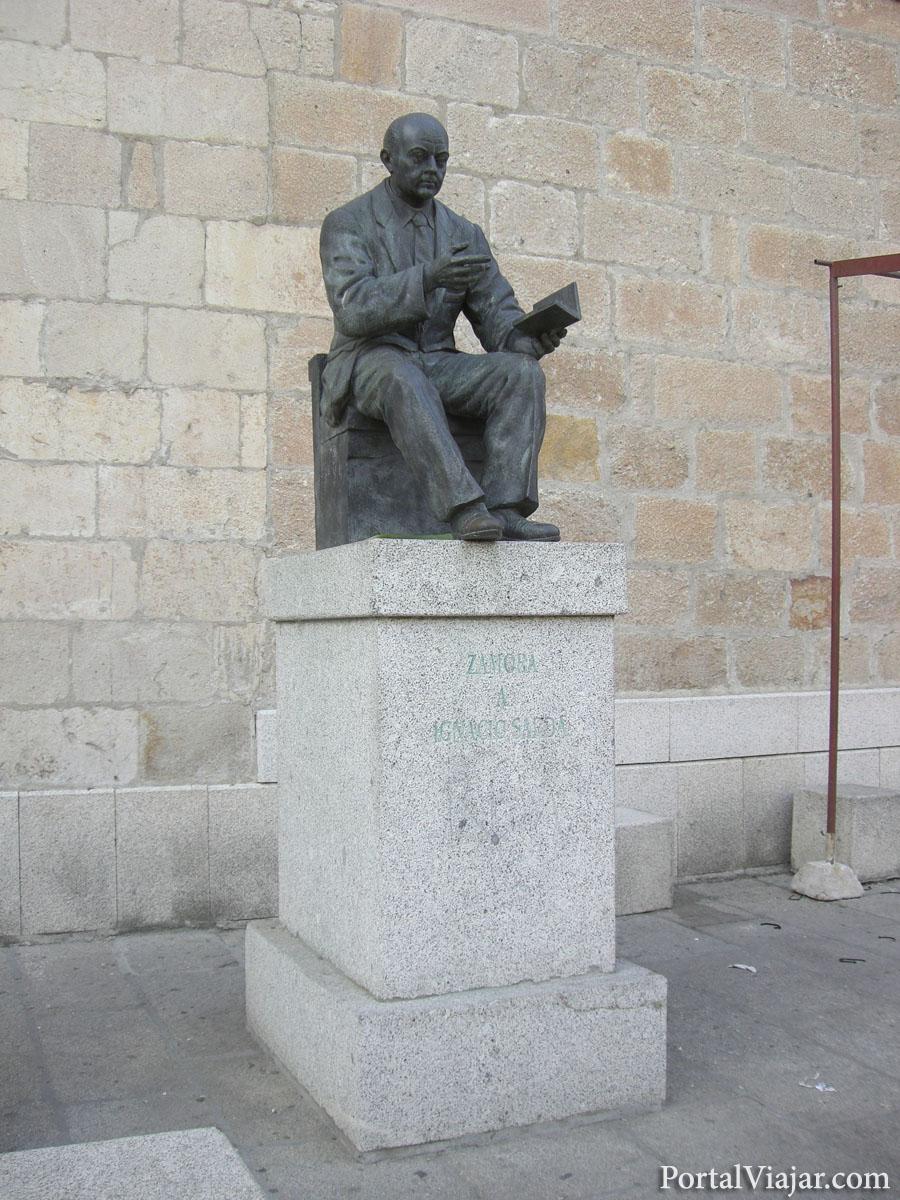 zamora - estatua de ignacio sarda