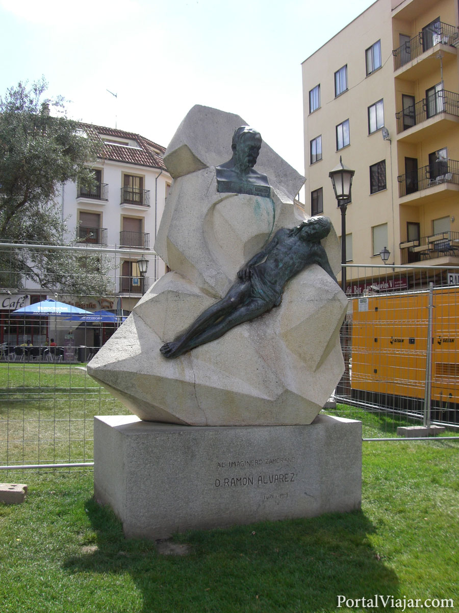 zamora - monumento a ramon alvarez